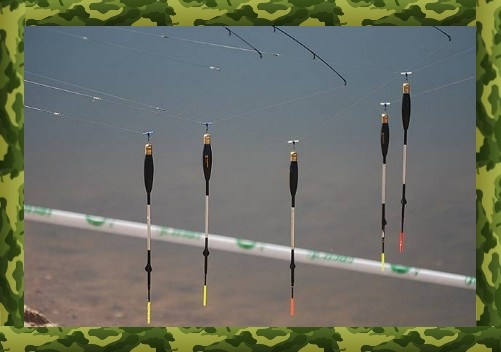 Оснастка удочки для ловли карася