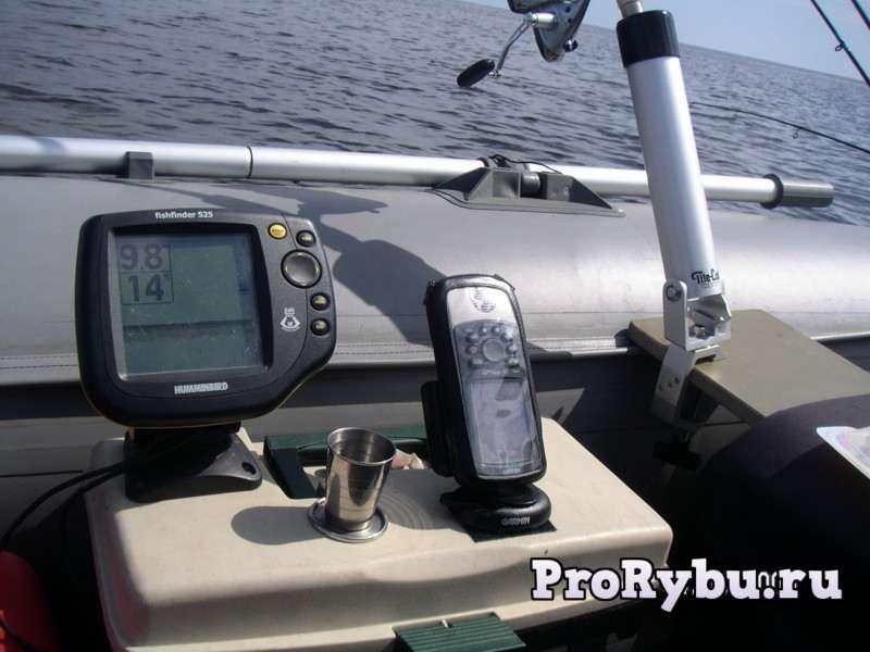 Установка эхолота на лодку ПВХ