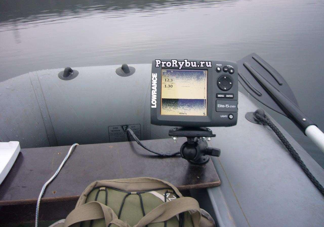 бюджетный эхолот для лодки