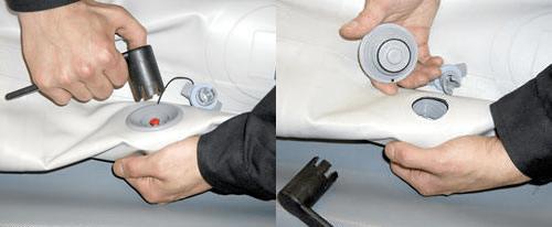 Замена неисправного клапана в домашних условиях
