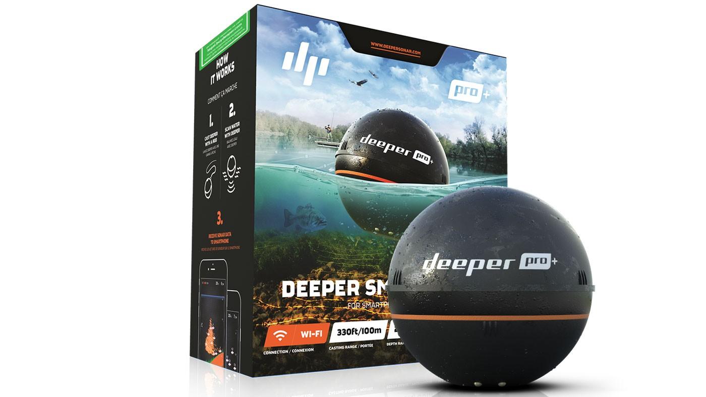 Беспроводной эхолот Deeper Pro Plus