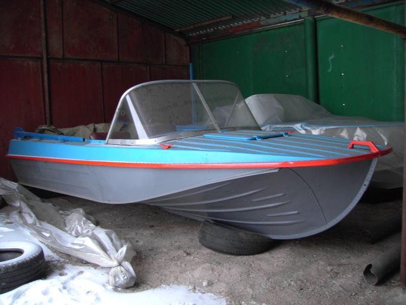 Моторная лодка типа Казанка 5М2