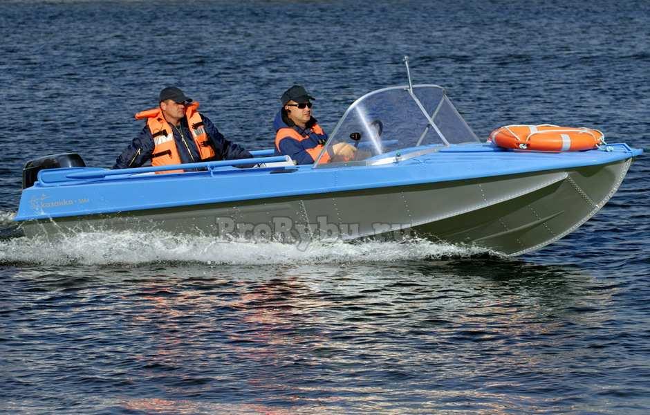 История лодок Казанка