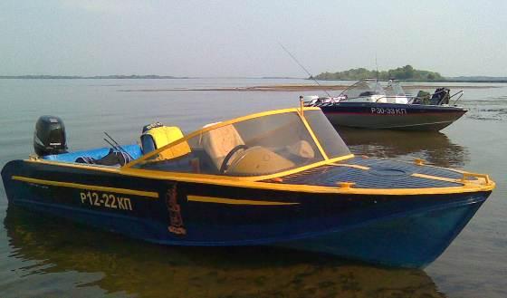 Лодки Казанка