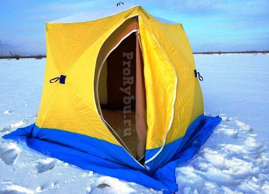 Лучшая недорогая зимняя палатка для рыбалки