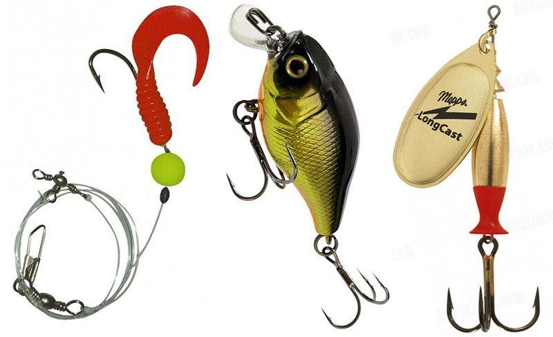 Приманки для рыбалки на отводной поводок