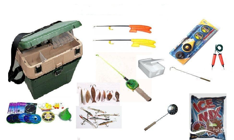 рыболовные наборы и комплекты