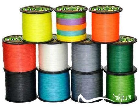 Как выбрать плетенный шнур для рыбалки