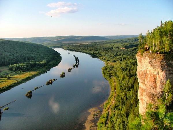 Ловля рыбы в Пермском крае на реке Вишера
