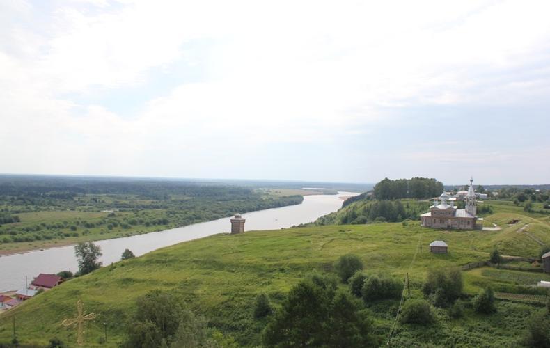 Ловля на речке Колва в Пермской области