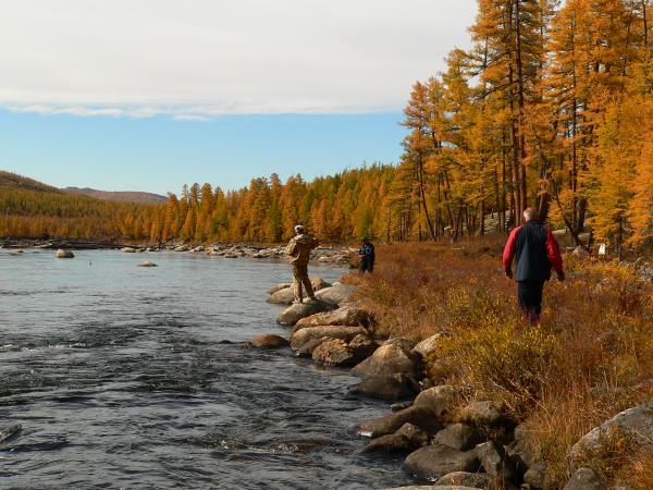 Осенняя рыбалка в Челябинске