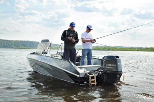 Алюминиевая лодка для рыбалки фото