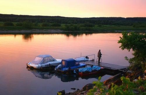Рыбалка Река Сок