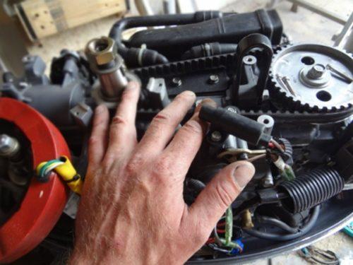 ремонт мотора для лодки