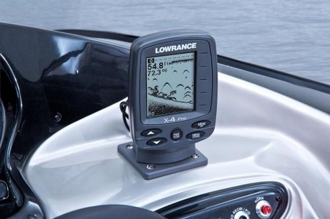 Настройка эхолота Lowrance X 4 Pro