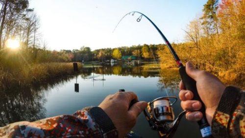 первая в жизни рыбалка