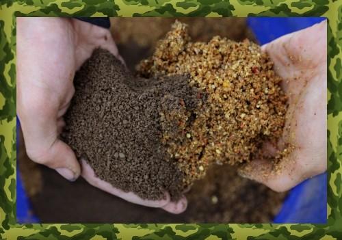 Видео о приготовлении каши для ловли карася
