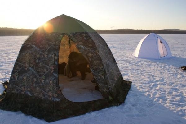 Лучшие недорогие палатки для зимней рыбалки