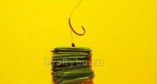 Оснастка для ловли белого амура на волос