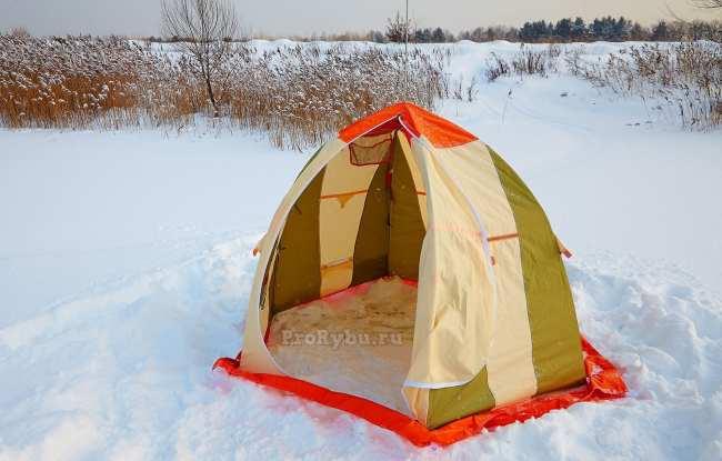 Какую палатку для зимней рыбалки купить?
