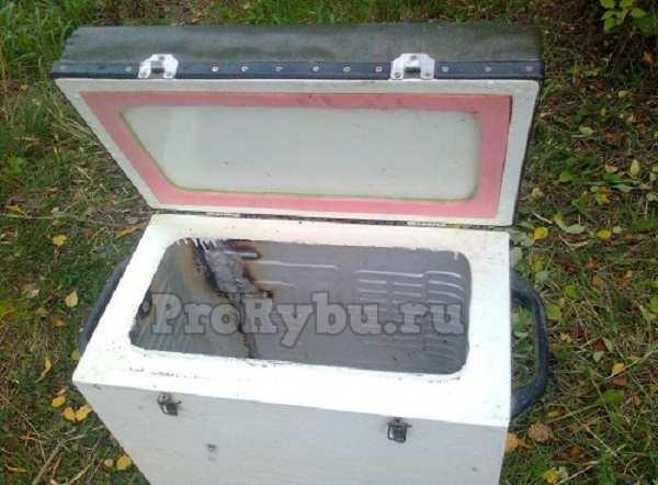 Ящик для зимней рыбалки своими руками