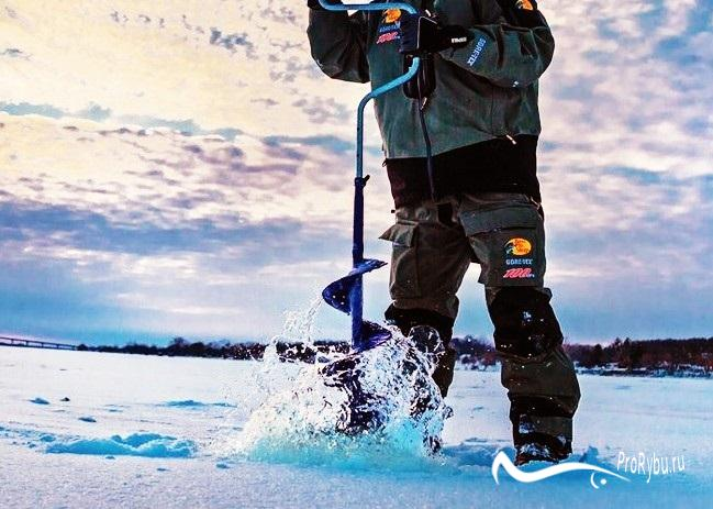 Буры для зимней рыбалки