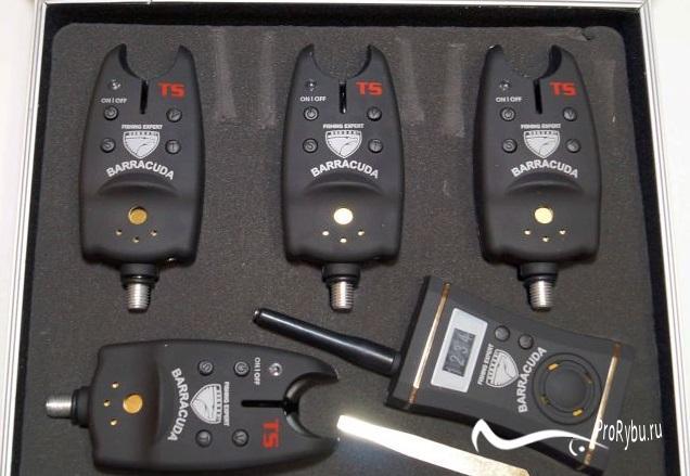 Наборы электронных сигнализаторов поклевки