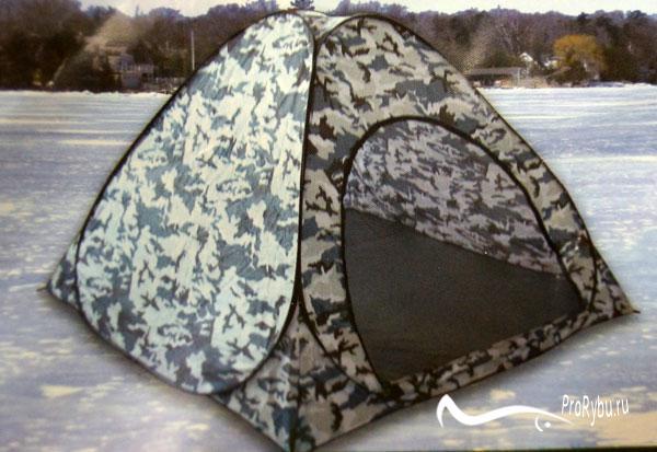 Как выбрать палатку-автомат для зимней рыбалки