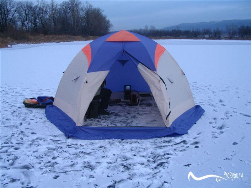 Палатка-автомат для зимней рыбалки