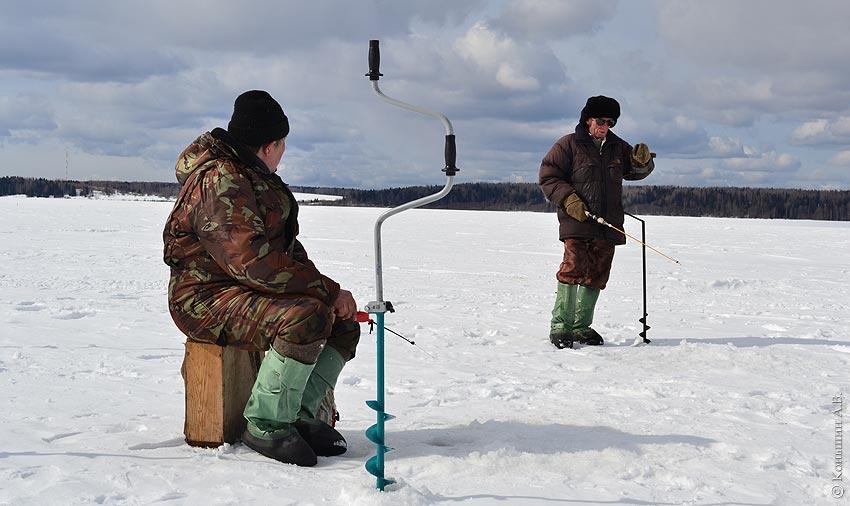 Зимняя рыбалка в Свердловской области