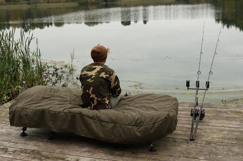 рыбалка - спальный мешок