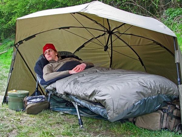 Как выбрать спальный мешок для рыбалки