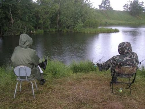 ловля в дождливую погоду