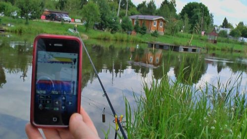 Эхолот для рыбалки с берега