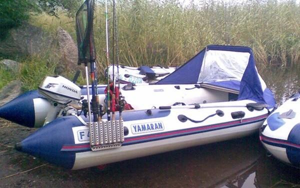 Тюнинг лодок ПВХ