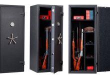 Чем удобны малогабаритные сейфы для оружия