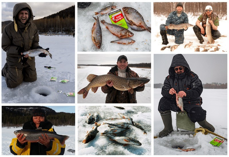 рыбалка с Fishhungry зимой