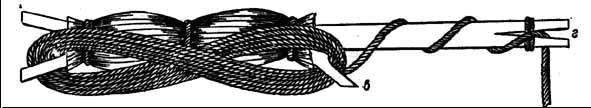 Рис. 9 Западносибирский мотылек с намотанной леской.