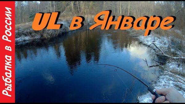 ВИДЕО: Форель на микро речках. Ловля форели зимой. UL