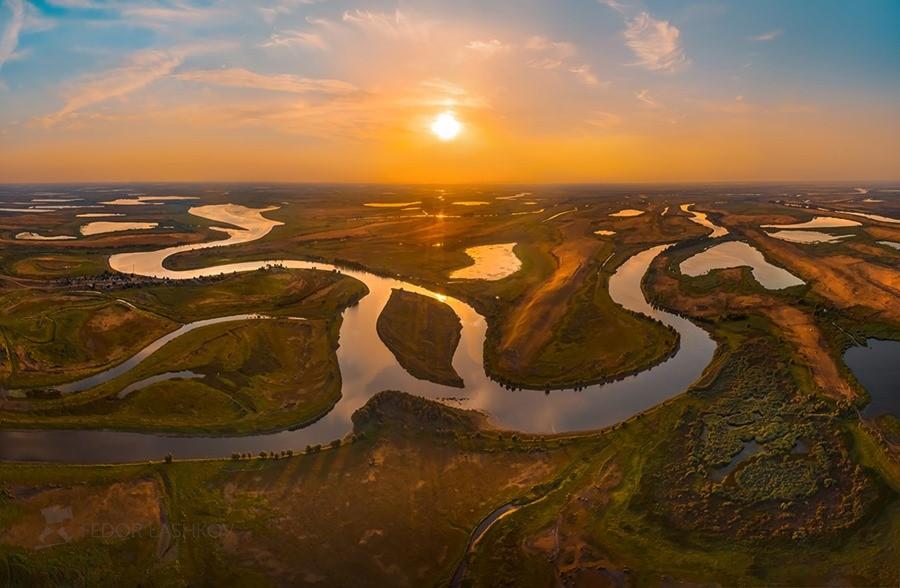 Астраханская область Дельта Волги