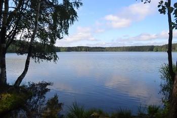 Белое озеро фото