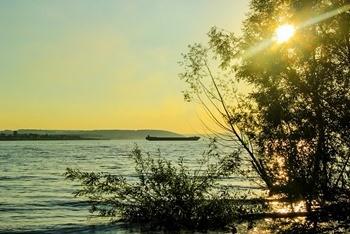 Куйбышевское водохранилище фото