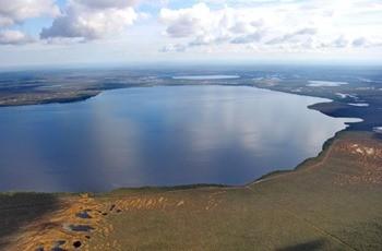 Озеро Мирное фото