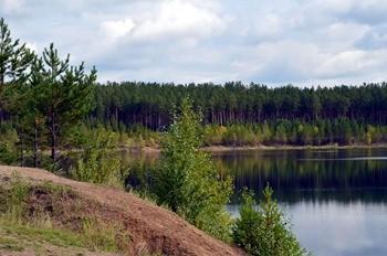 Озеро Поросшее фото