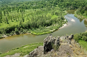 Река Бердь фото