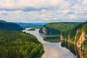 Река Вишера фото