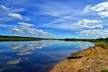 Река Вычегда фото