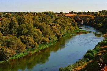 Река Зуша фото