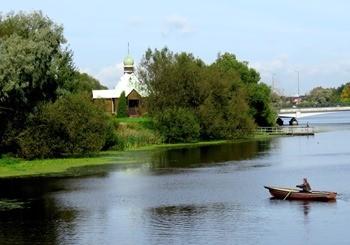 Река Ижора фото