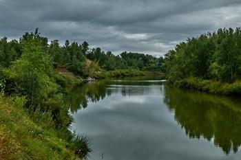 Река Ишим фото